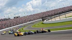 Imagen de la Indy500 de 206, ganada por Alexander Rossi