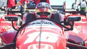 El estadounidense Graham Rahal, una de las estrellas de la IndyCar