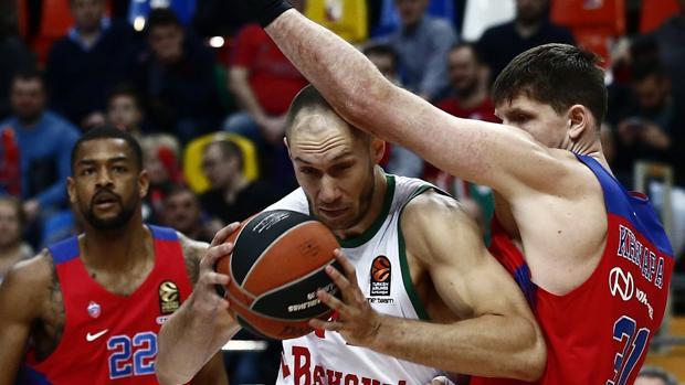 Resultado CSKA-Baskonia:  El Baskonia se queda corto