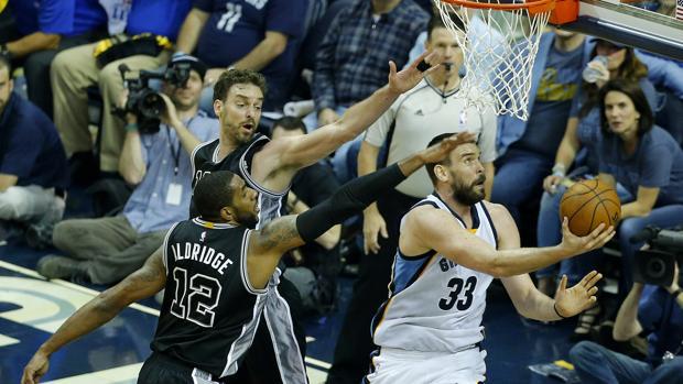NBA:  Marc Gasol deja en evidencia a los Spurs