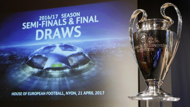 Sorteo Champions:  Las fechas de las semifinales