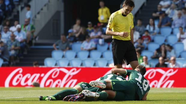 Un buen Betis gana en su visita al Celta (0-1)