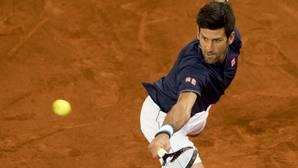 Djokovic, en su partido de octavos ante Feliciano López
