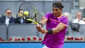 Rafael Nadal, en el Mutua Madrid Open