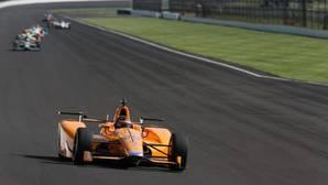 En directo, la tercera jornada de Alonso en Indianápolis