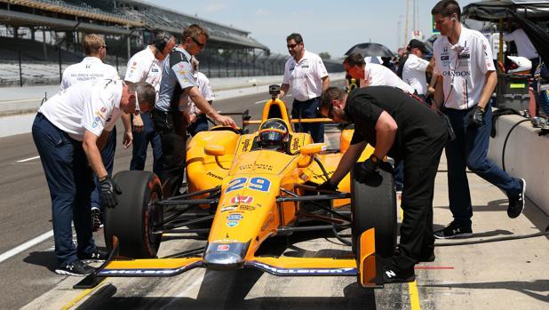 500 Millas Indianápolis:  «Alonso es un gran talento y no me preocupa su inexperiencia»