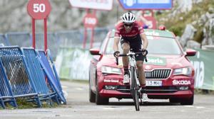 Así fue el último kilómetro de Alberto Contador