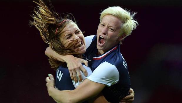 Raipone y Morgan, durante los Juegos de 2012, donde lograron el oro
