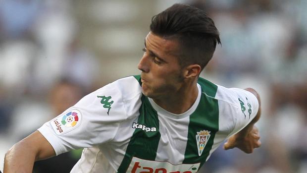 Sergi Guardiola, máximo goleador del Córdoba CF