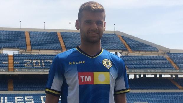 Adrià Vilanova. jugador del Hércules