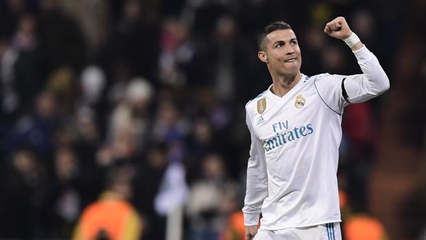 Cristiano Ronaldo, durante el partido de Champions ante el Borussia Dortmund