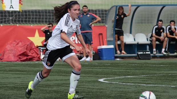 La valencianista Natalia Gaitán es una de las jugadoras de la Liga Iberdrola que se ha roto el ligamento cruzado