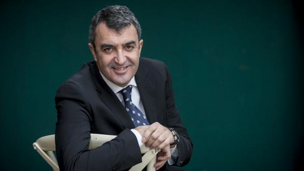 Javier Guillén posa para ABC en Madrid