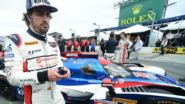 Fernando Alonso, en Daytona