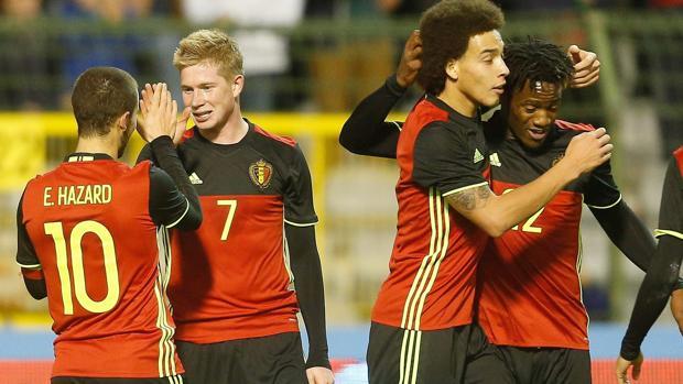 Imgen de la selección belga