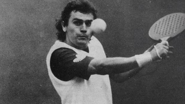 Javier Maquirriain, en su época como jugador de pádel