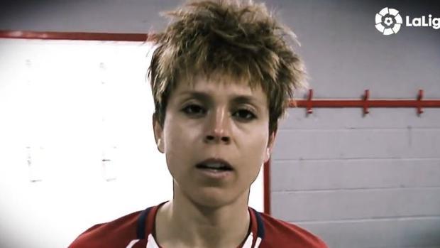 Amanda Sampedro, jugadora del Atlético de Madrid