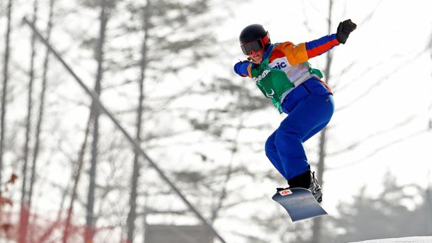 Astrid Fina, en Pyeongchang