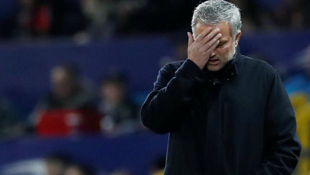 Jose Mourinho, ante el Sevilla