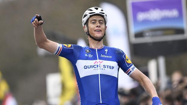 Niki Terpstra, ganador del Tour de Flandes