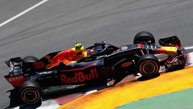 Verstappen durante los entrenamientos libres