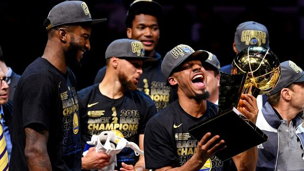 Los Warriors, campeones de la NBA