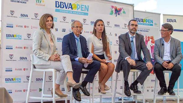 Presentación del BBVA Open Ciudad de Valencia