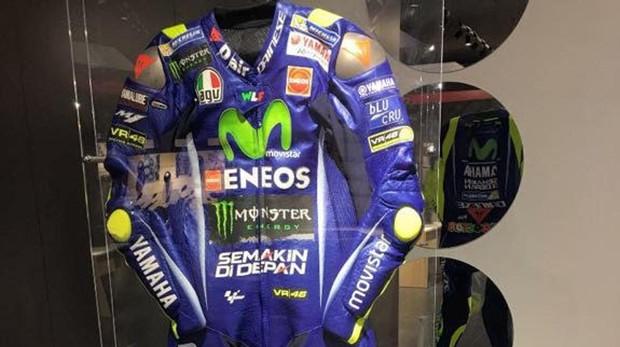 El traje de Valentino Rossi sustraído de la tienda de La Coruña