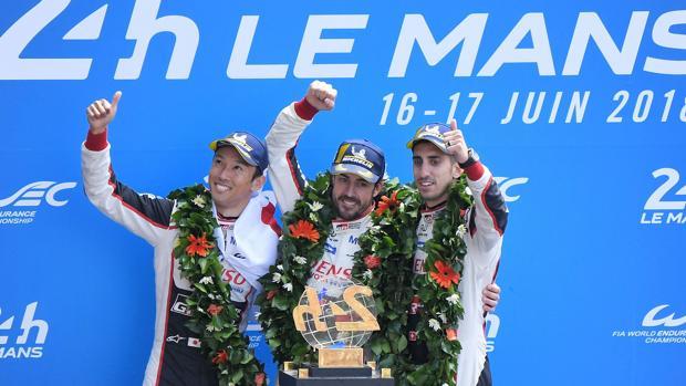 Alonso revive en Le Mans