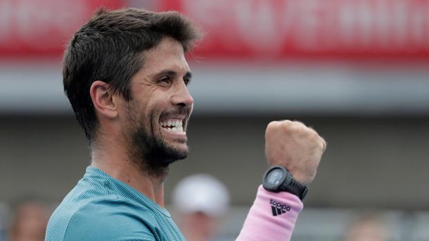Fernando Verdasco celebra su triunfo