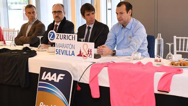 Presentación del XXXV Zurich Maratón de Sevilla