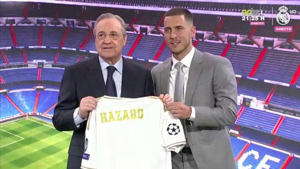 Hazard, ante 50.000 espectadores: «Era mi sueño desde pequeño»