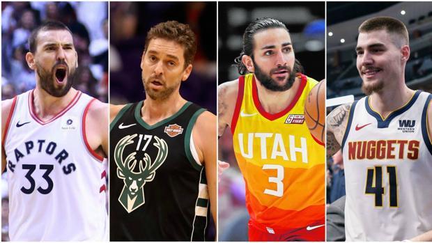 El rompecabezas español en la NBA