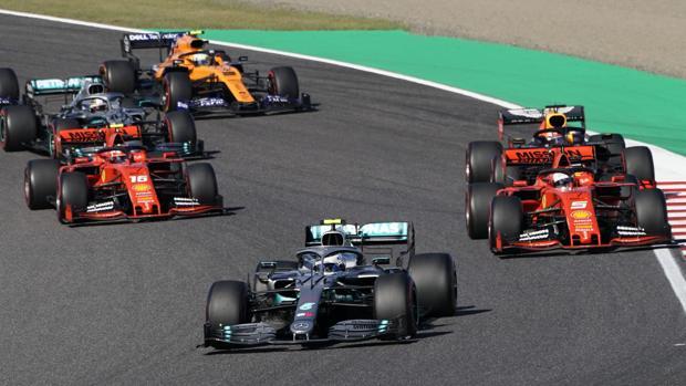 Bottas gana en Suzuka con Sainz más cerca que nunca de la élite