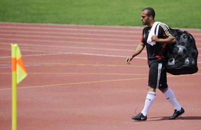 Real Betis: Odonkor se lesionó con la selección