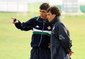 Real Betis: Juande Ramos y Paco Chaparro, en la época en la que el primero era el entrenador bético
