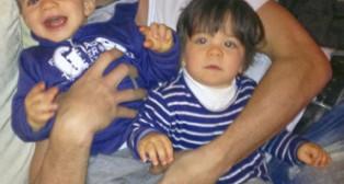 David Rivas: «Eché tanto de menos a mis hijos que ahora no me separo de ellos»