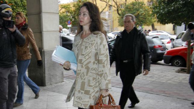 Mercedes Alaya entra en los juzgados