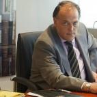 Javier Tebas, presidente de la LaLiga