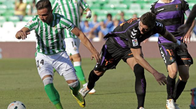 Lance del Betis-Valladolid de la penúltima jornada de Primera del pasado curso