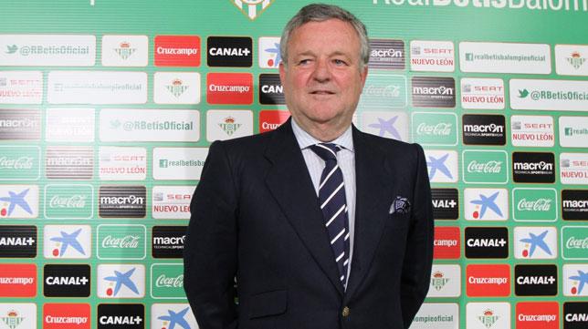 El presidente del Real Betis, Manuel Domínguez Platas. FOTO: ABC