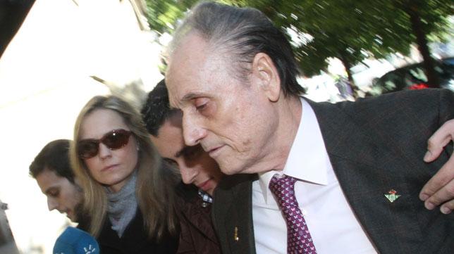 Lopera, en una de sus comparecencias judiciales. FOTO: Rocío Ruz