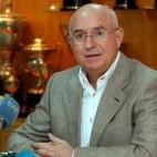Lorenzo Serra Ferrer, en una rueda de prensa en Mallorca