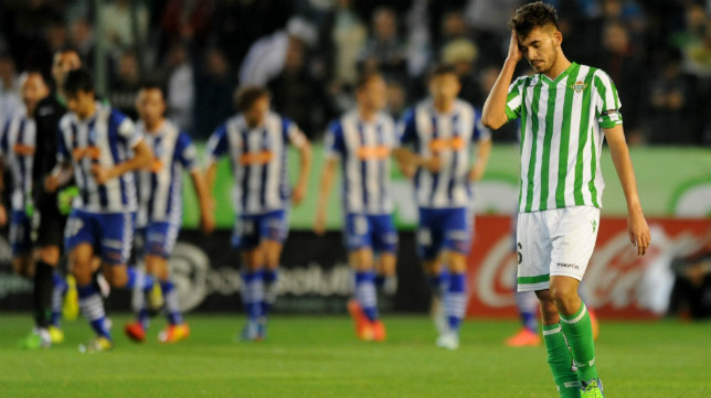 Ceballos Se Lamenta Tras Un Gol Del Alaves
