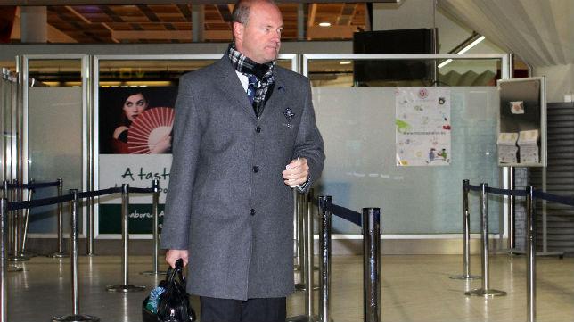Mel, en su eprimera etapa como entrenador del Betis (Foto: J. J. Ubeda)