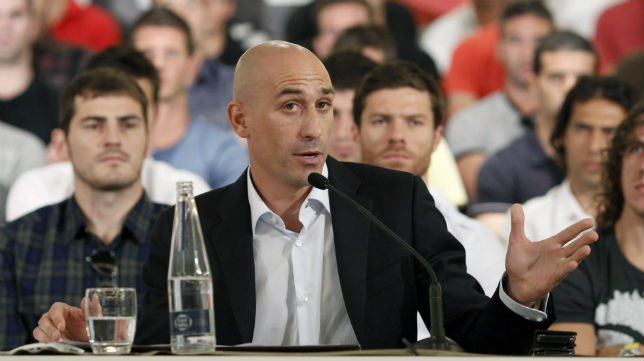 Luis Rubiales, presidente de la AFE (Foto: EFE)