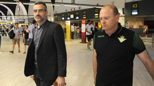 Eduardo Macià y Pepe Mel (Foto: Jesús Spínola)