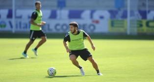 Pacheco se entrena con el Alavés en Mendizorroza (Foto: elcorreo.com)