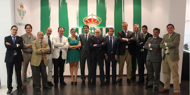 El nuevo consejo del Betis (Foto: RBB).