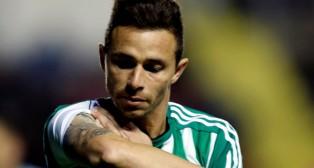 Rubén Castro, en el partido ante el Levante